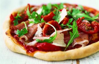 Recette de la pizza faite maison d'Ensoleil'ade