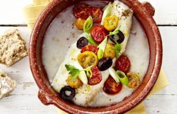 Recette de cabillaud aux petits légumes d'Ensoleil'ade