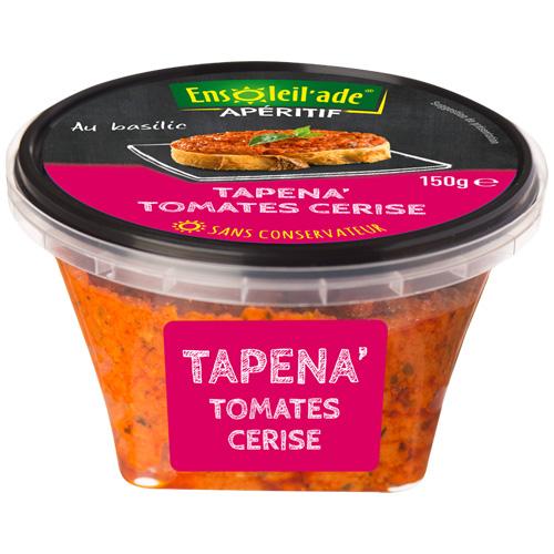 Boîte de Tapena® aux tomates cerise.