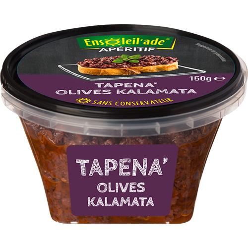 Boîte de Tapena® aux olives Kalamata.