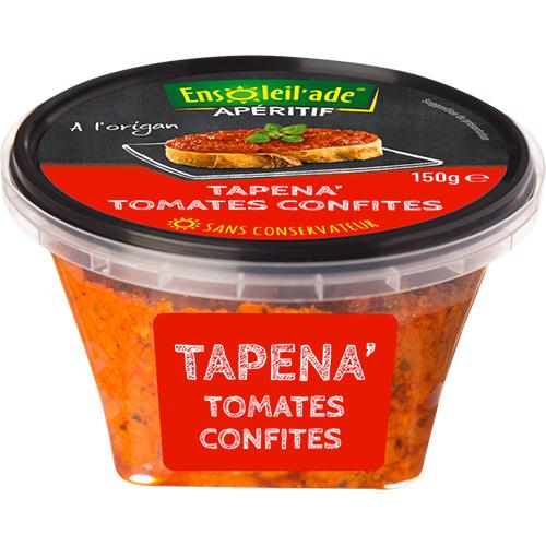 Boîte de Tapena® aux tomates confites.